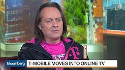 T-Mobile's Legere on Customer Growth, Strategy and Competition