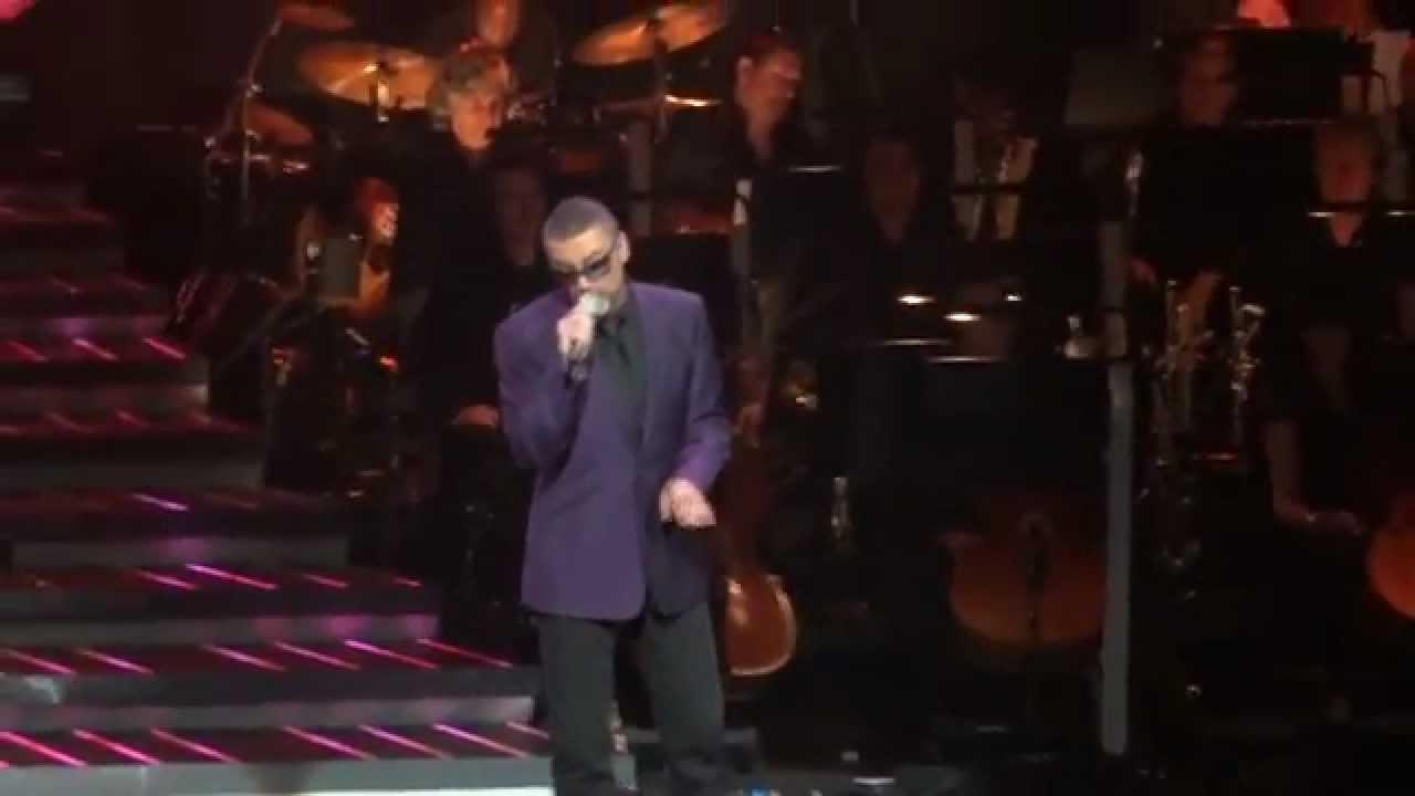 George Michael Kissing A Fool At The Royal Albert Hall London