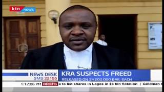 KRA suspects freed: 38 suspects in tax case bailed out on KSh 200,000 bail each