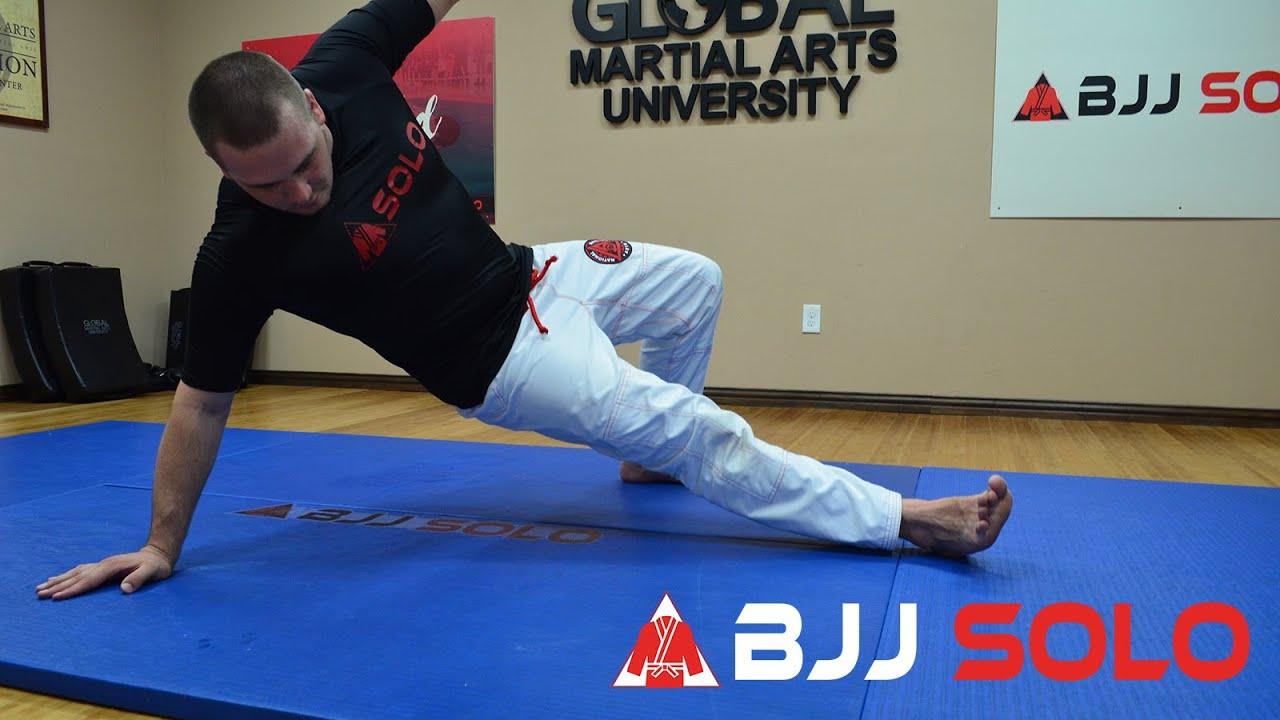 BJJ Solo - Total Body Workout w/ Brazilian Jiu Jitsu Movements (Beginner)