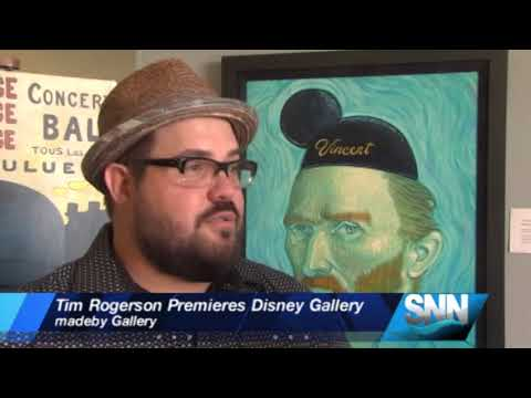 SNN: World-renowned Disney Artist, Tim Rogerson Premieres Gallery At Ringling College