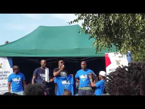 Haa! Senator Melaye Booed At Notting Hill Carnival, London While On Stage (Watch Video)