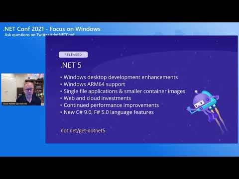.NET Conf: Focus on Windows Playlist