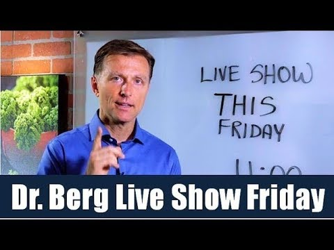 Dr. Berg / Karen Live Q&A, Friday (Aug 3) on the Ketogenic Diet and Intermittent Fasting