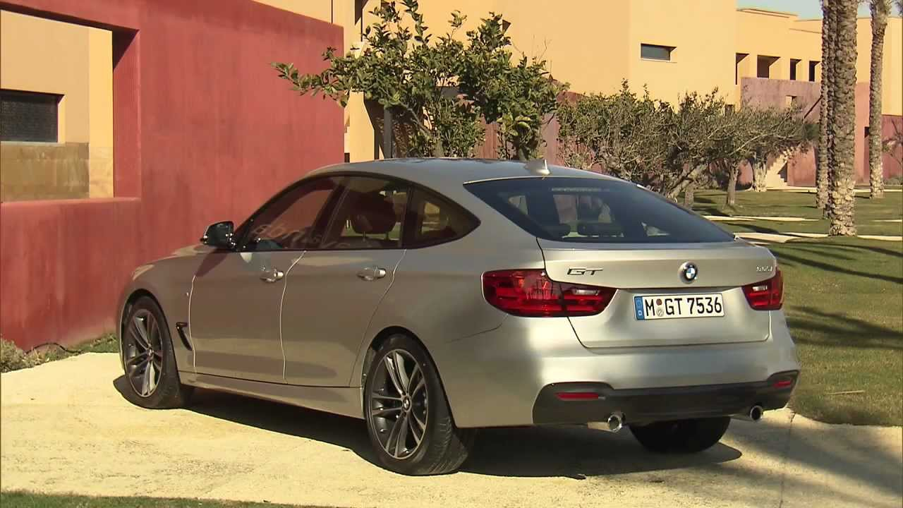 2013 BMW 335i GT M Sport  Footage EXTERIOR  YouTube