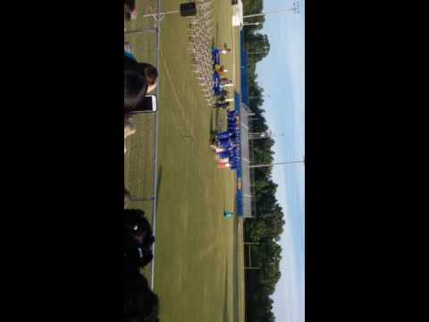 Hatley high school graduation hat toss 2016