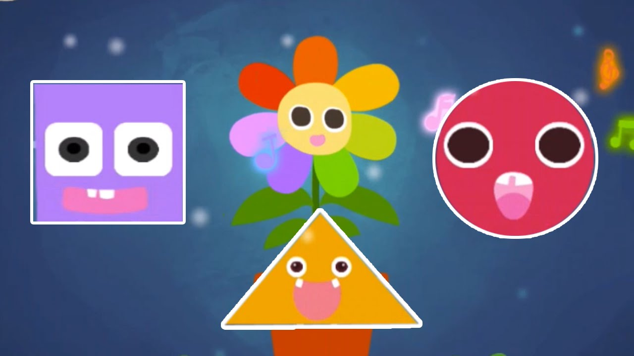 Kids Learning Shape Game -Creative Shapes World