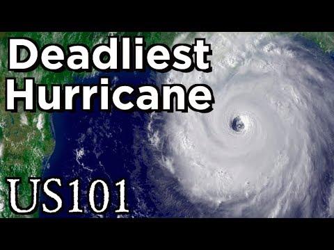 The Deadliest Hurricane in American History - US 101