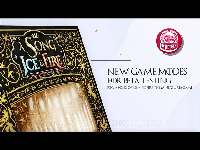 No Foe Shall Pass: NEW A Song of Ice and Fire the Miniatures Game Scenario