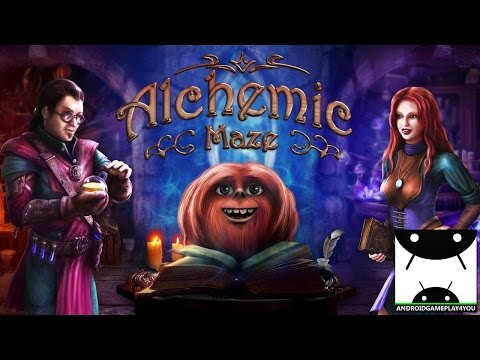 Alchemic Maze Android GamePlay Trailer [60FPS] (By HeroCraft Ltd)
