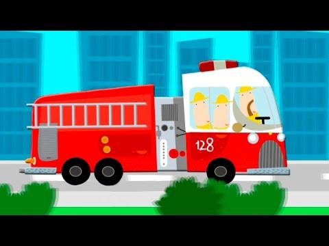 Мультфильмы про транспорт и про машинки в городе! Новые видео для детей - Интересный транспорт.