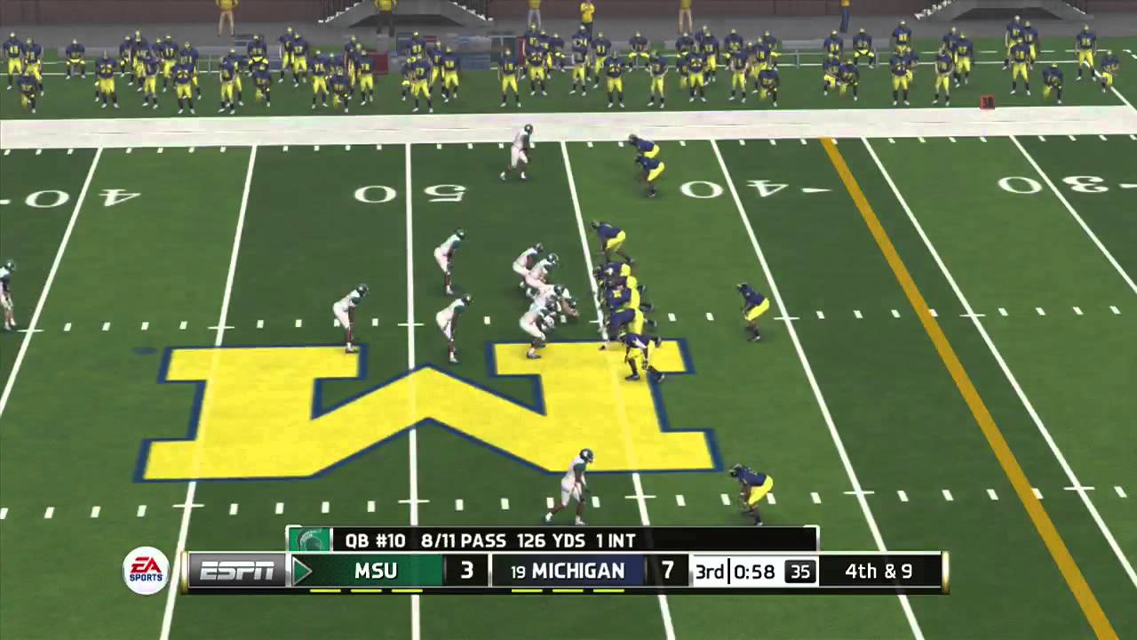 Michigan State Vs Michigan Full Game Hd Ncaa Football