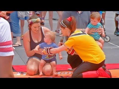 Jack Jack's Incredible Diaper Dash At Incredible Tomorrowland Expo, Walt Disney World