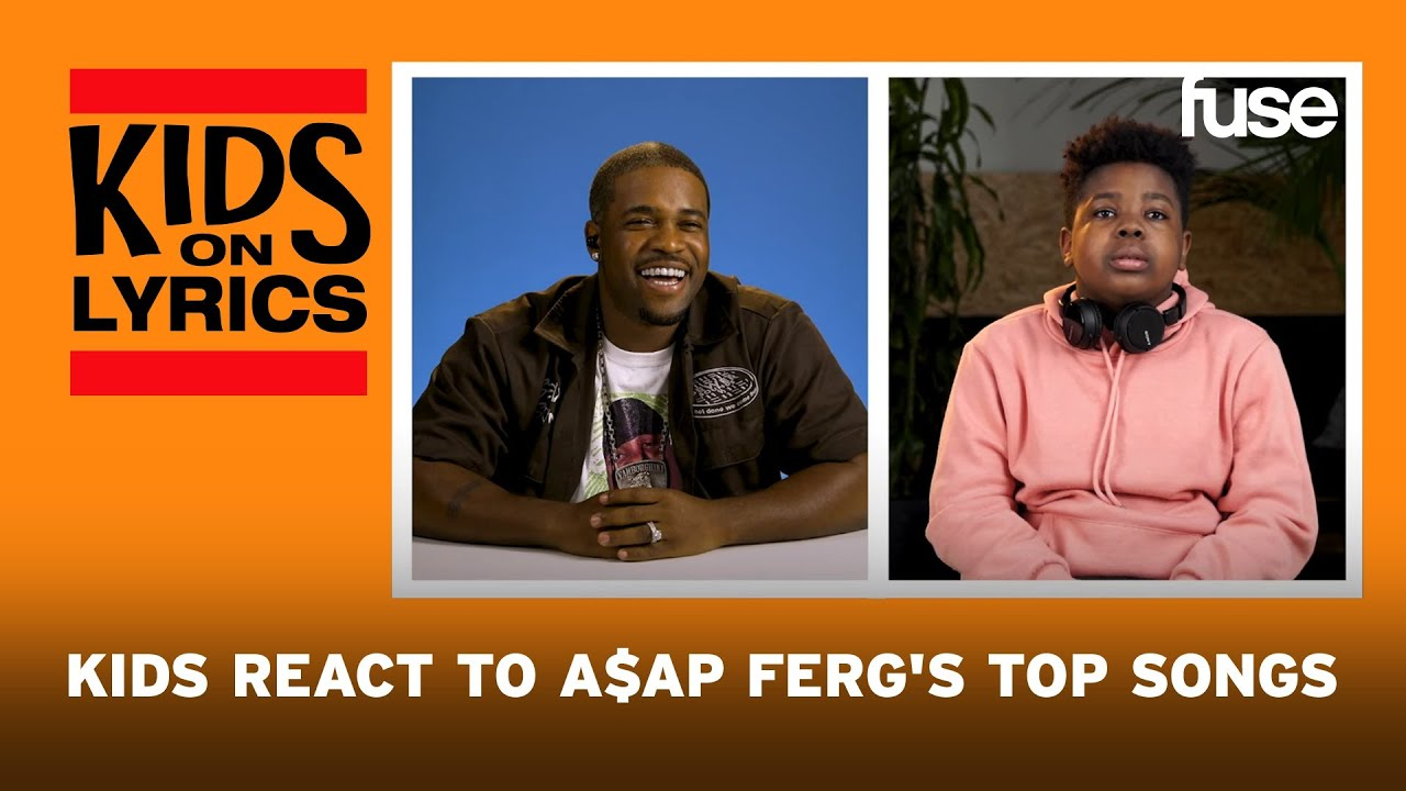 Kids React To A$AP Ferg's Top Songs: