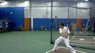 Первая бейсбольная тренировка...