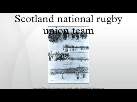 Scotland national rugby union team