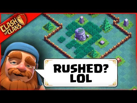 WORST RUSHER NEEDS HELP | Clash of Clans | Can We Fix?