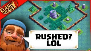 WORST RUSHER NEEDS HELP   Clash of Clans   Can We Fix?
