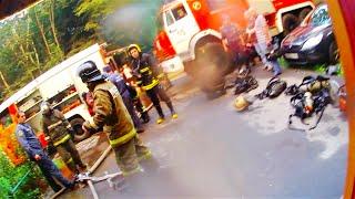 Эпизод 9 : Пожар. Эвакуация. Воскресное утро.