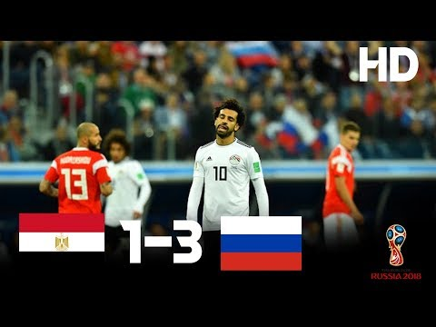 Egypt vs Russia (1-3) - 2018 FIFA World Cup Russia- Highlights HD