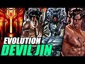 Evolution of Devil Jin from Tekken (1997-2017)
