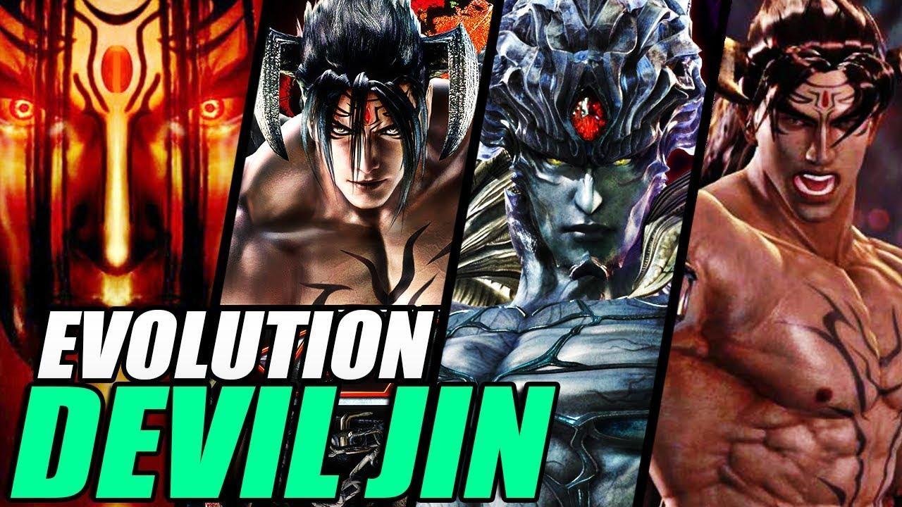Evolution Of Devil Jin From Tekken 1997 2017 Youtube