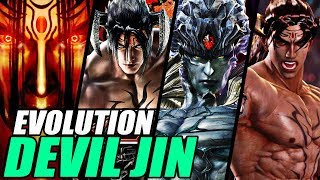 Evolution of Devil Jin from Tekken (1997-2017)