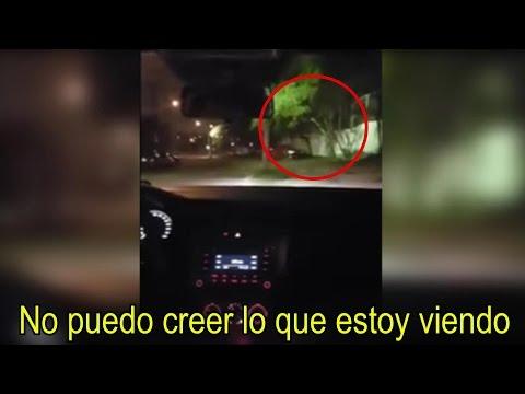 Mira el Momento Justo en el que Captan a Un FANTASMA REAL en Monterrey