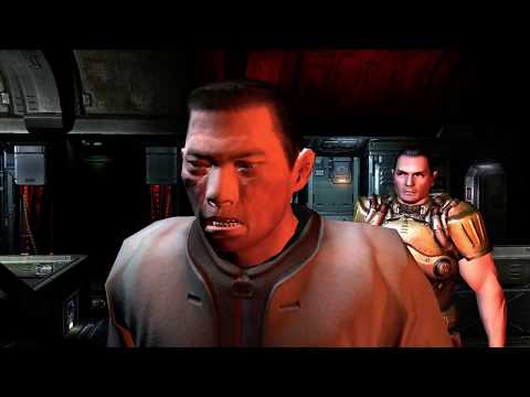 Doom 3 BFG Edition Live Long Play Part One (Xbox360)