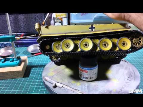 Streaking effects with MiG 502 Oils