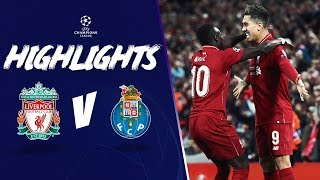 Keita & Firmino give Reds the edge | Liverpool 2-0 FC Porto | Highlights