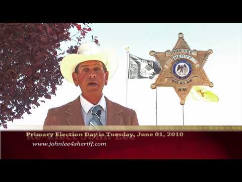 John Lee for Sheriff of Otero County