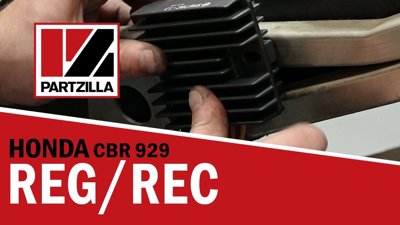 Honda CBR Regulator Rectifier Replacement | Honda CBR929 | Partzilla com