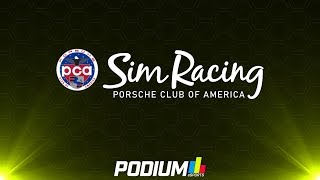 Porsche Club of America Sim Racing Series | Round 8 at Daytona