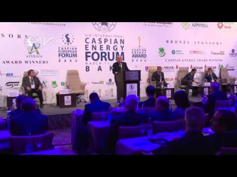 Академик Хошбахт Юсифзаде - Caspian Energy Forum - Baku 2015