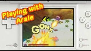 Dragon Ball Origins 2 - NDS - Gameplay Arale