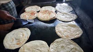Download How To Make Layered Soft Parotta / Kerala Paratta / Village Food Mp3 and Videos