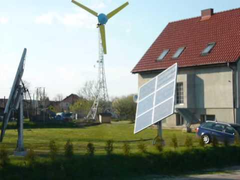Obrotnica solar tracker  na siłownikach hydraulicznych -sterowanie EDAP