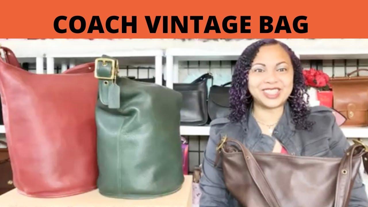 Coach Vintage Bag Review Vintage Duffle Sac Coach 9085 Vintage ...