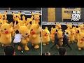 Security team bum-rushes an adorable dancing Pikachu | New York Post