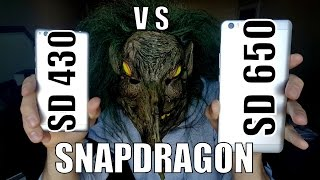 Snapdragon 650 vs 430 SPEED TEST/Benchmark/Gaming/Comparison(Adreno 510/505/GPU/3GB RAM/)