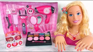 7 Year Old Barbie Girl Makeup ♥