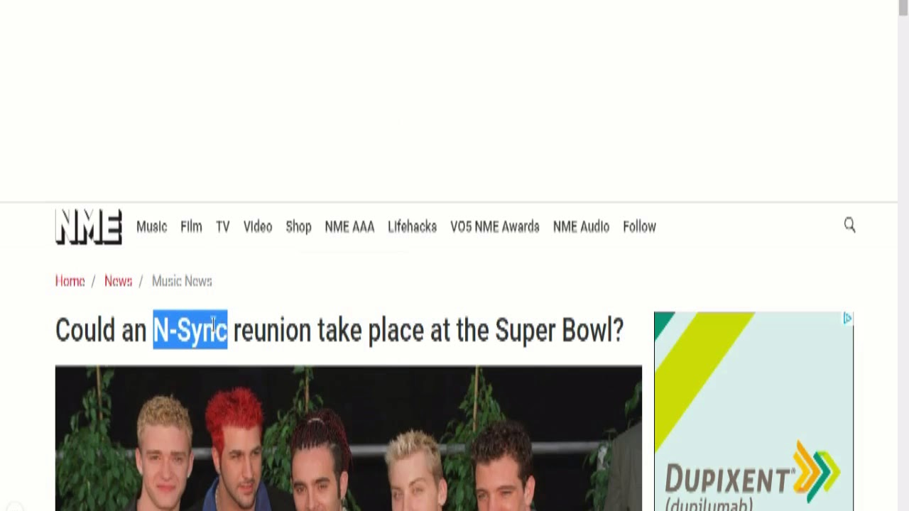 Mandela Effect: N*SYNC is Now *NSYNC (Reality Residue Examples ...