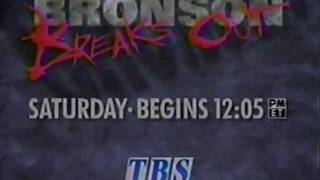 TBS 1994 Bronson Breaks Out Commercial: Assassination / Breakout / The Valachi Papers