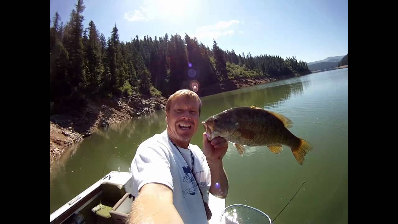 2014 orofino idaho dworshak lake bass kevin zywina youtube for Dworshak reservoir fishing