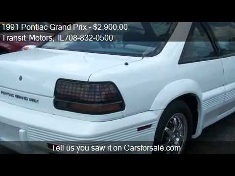 1991 pontiac grand prix se for sale in calumet city il 60 youtube youtube