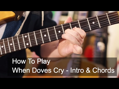 'When Doves Cry' Intro and Chords - Prince Guitar Tutorial