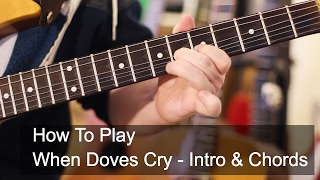 When Doves Cry Guitar Tutorial - Prince