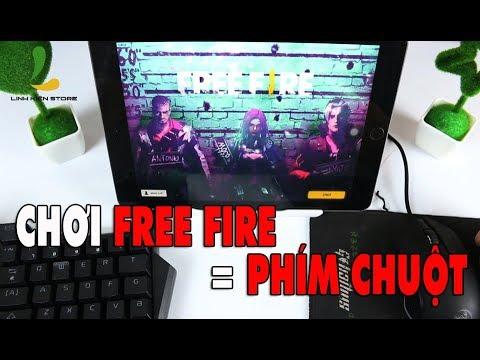 Trải nghiệm chơi Free Fire bằng bàn phím và chuột trên Ipad – Flydigi D1 chơi tốt mọi loại game