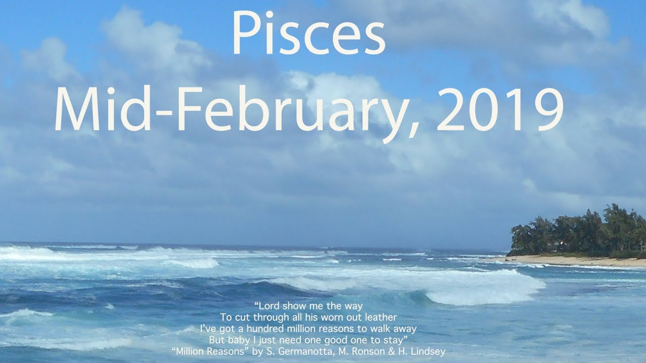 ARE THEY LOYAL? PISCES FEBRUARY 2019 General Tarot Reading